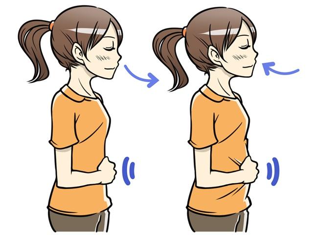 腹式呼吸は練習が必要